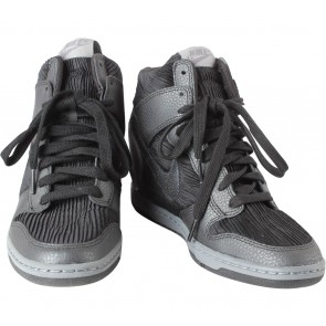 Nike Black Dunk Sky Hi Sneakers