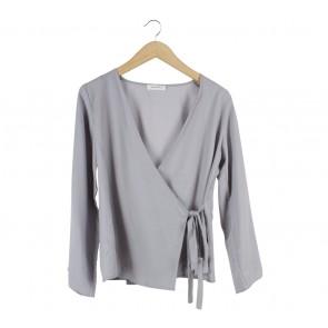 Shop At Velvet Grey Wrap Blouse