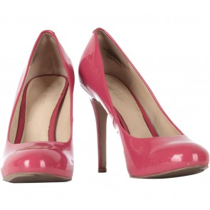 Nine West Pink Patent Heels