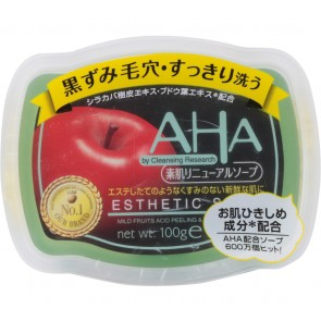 AHA  Cleansing Research Esthetic Soap Skin Care