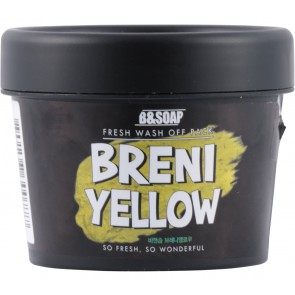 B&Soap  Breni Yellow Fresh Wash Off Pack Faces