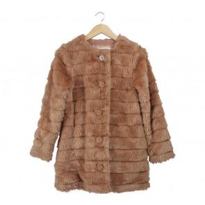 Liz Lisa Brown Fur Coat