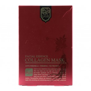 UGB  Facial Essence Collagen Mask 5  Faces