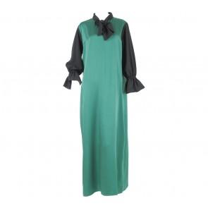 Sirin Green And Black Long Dress