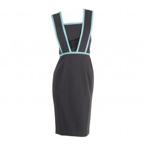 Stellarissa Black Yakova Midi Dress