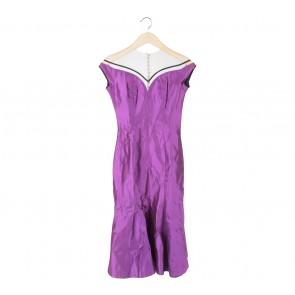 Stellarissa Purple Yeme Midi Dress