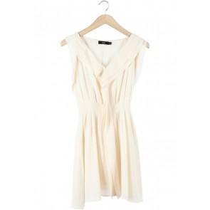Asos Peach Ruffle Mini Dress