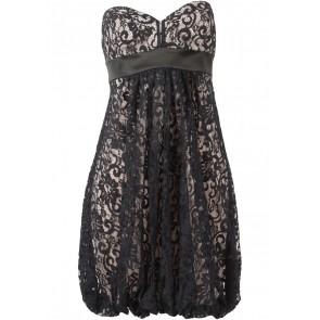 Marciano Black Lace Tube Mini Dress