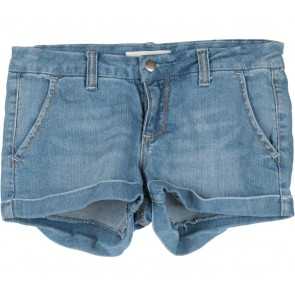 2.1 Denim Blue Denim Short Pants