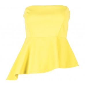 Zara Yellow Tube Sleeveless