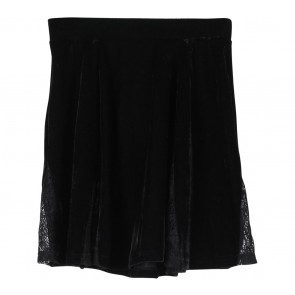 Topshop Black Combi Lace Skirt
