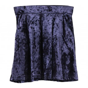 Topshop Dark Purple Skirt