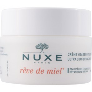 Nuxe  Ultra Comforting Night Face Cream With Honey And Precious OIls Faces