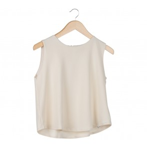 Shop At Velvet Off White Sleeveless Blouse