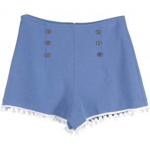 Blue Shorts Pants