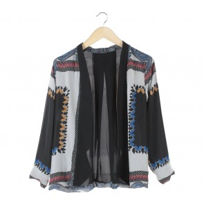 Multi Colour Patterned Outerwear