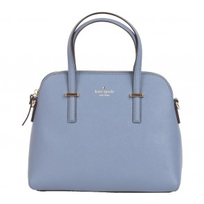 Kate Spade Blue Cedar Street Maise Leather  Satchel