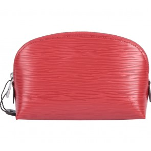 Louis Vuitton Red Cosmeic Epi Leather Pouch