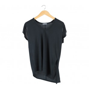 Zara Black Asymetric Blouse