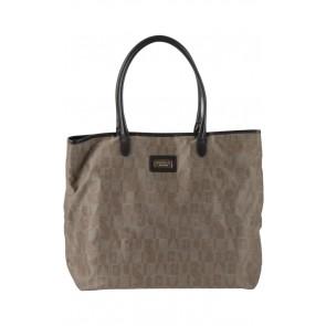 Furla Brown Monogram Handbag