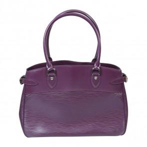 Louis Vuitton Purple Tote Bag