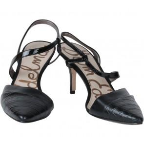 Sam Edelman Black Ankle Strap Heels
