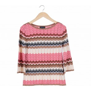 Warehouse Multi Colour Zig-Zag Sweater