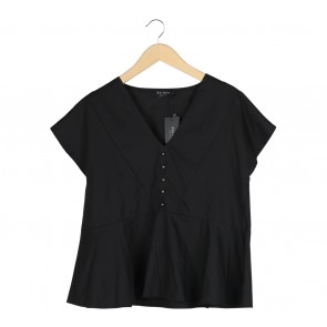 Zalora Black Blouse