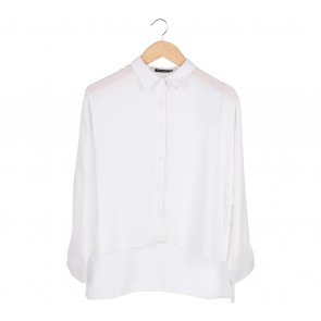 Zalora White Shirt