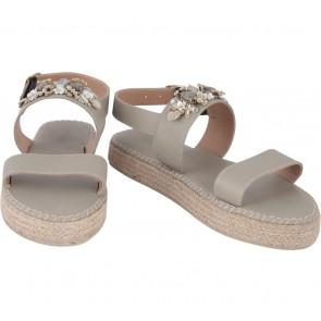 Pvra Taupe Duvspa Sandals