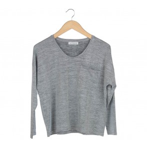 Cotton Ink Grey Boxy T-Shirt