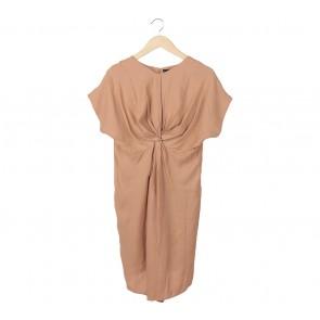 Shop At Velvet Brown Mini Dress