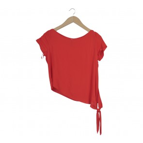 Stradivarius Red Blouse