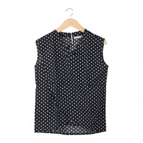 Matroishka Black Polka Dot Blouse