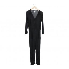 H&M Black Polka Dot Jumpsuit