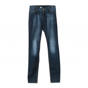 Zara Blue Denim Skinny Pants