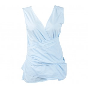 N.Y.L.A Blue Wrap Sleeveless