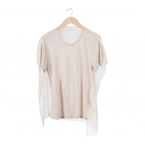 3.1 Phillip Lim Cream Combi Blouse