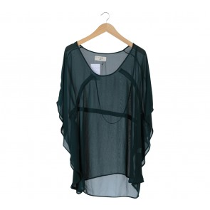 (X)SML Dark Green Blouse