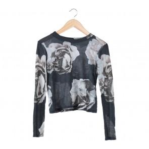 Zara Multi Colour Floral T-Shirt