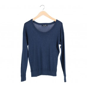Forever 21 Blue Knitted Sweater