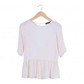 Zara Cream Blouse