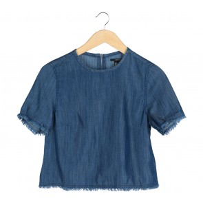 Forever 21 Blue Blouse