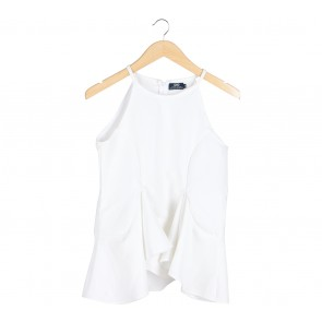 Label Eight White Sleeveless