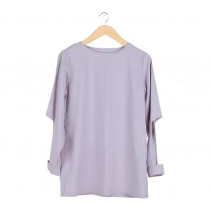 Lustre Purple Mini Dress