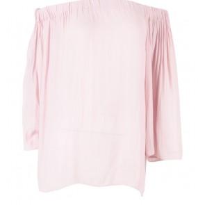 Mango Pink Bardot Blouse