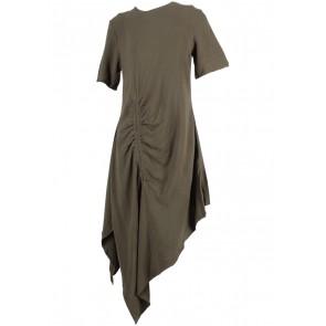 MAZUKI Dark Green Mini Dress