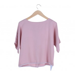 Lustre Pink Blouse