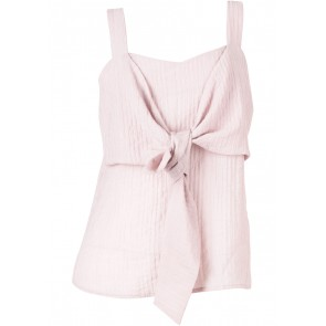 Pomelo. Pink Tied Sleeveless