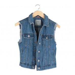 Pull & Bear Blue Vest